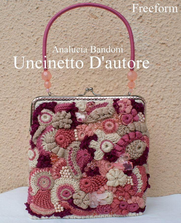 Freeform crochet bag uncinetto borsa corhce bolsa