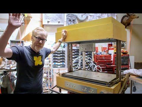 Adam Savage's Vacuum Forming Machine - YouTube