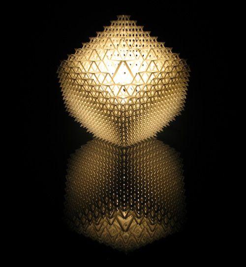 Studio Dror - collapsible lamp