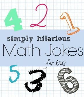 These 18 really funny math jokes are great for elementary kids. Understanding jokes often requires lots of critical thinking.