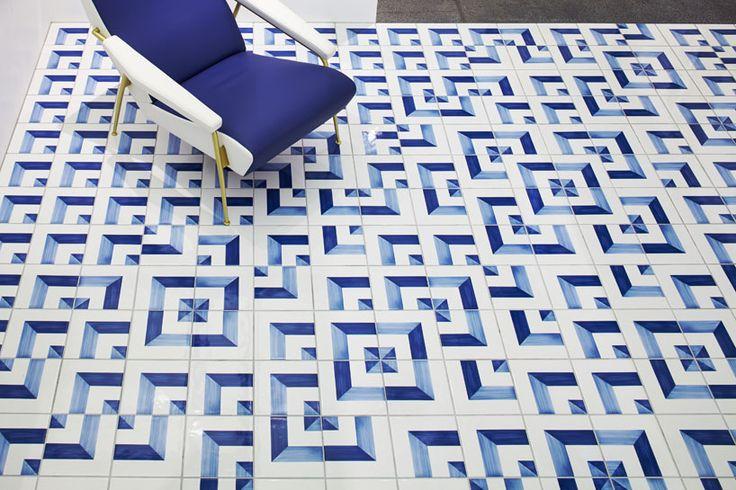 torafu architects texturizes gio ponti exhibit with tactile surfaces - designboom | architecture & design magazine