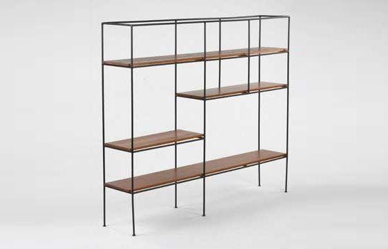 bookcase partition / muriel coleman, 1952.