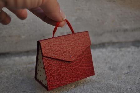 mini sac, très sympa à faire et super rendu