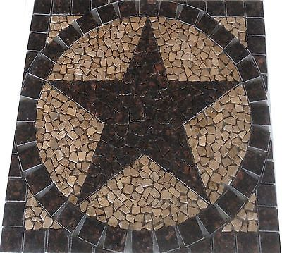 texas star mosaic backsplash floor wall medallion tile l mosaics