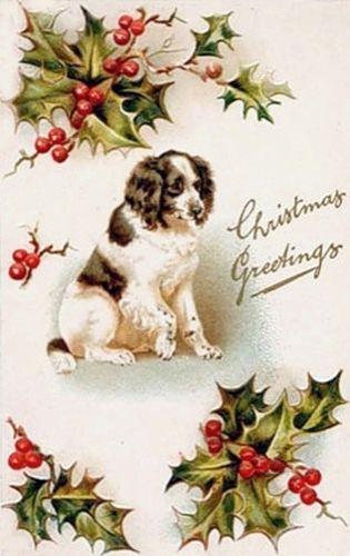 Винтажные рождественские открытки. Обсуждение на LiveInternet - Российский…