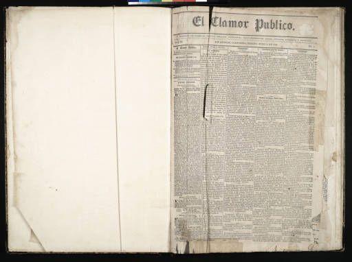 El Clamor Publico, vol. III, no. 1, Julio 4 de 1857 :: El Clamor Publico Collection, 1855-1859