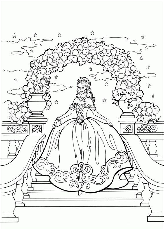 desenhos para colorir da princesa leonora barbie coloring pagesadult coloring pagescoloring sheetsprincess - Barbie Princess Coloring Pages