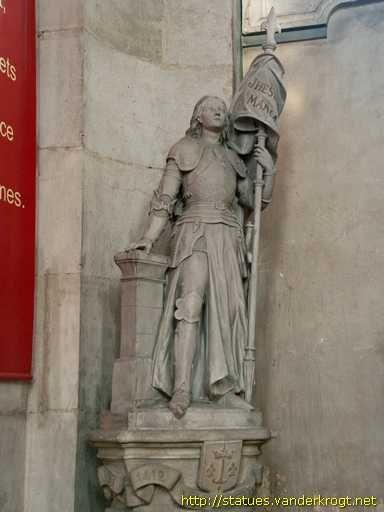 église Saint Sebastien. Nancy /  Jeanne d'Arc
