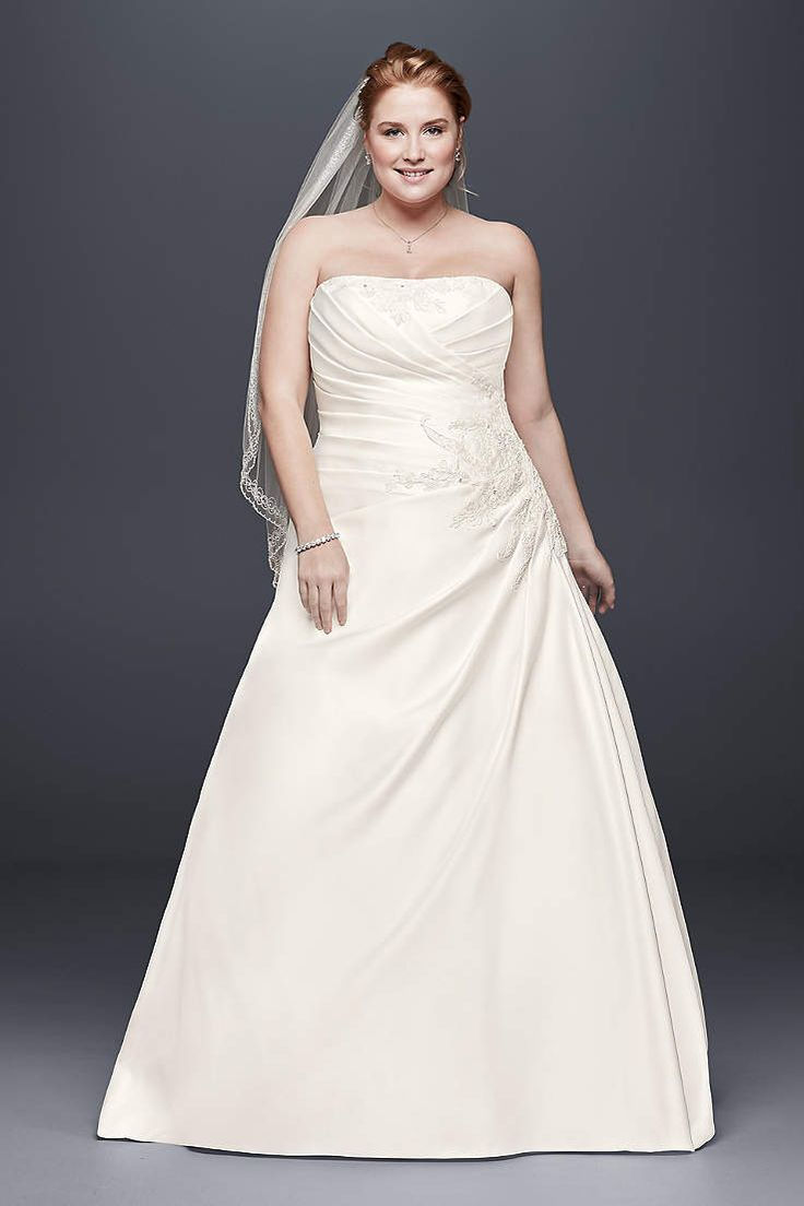 81 best cheap plus size wedding dresses 2018 images on pinterest davids bridal has beautiful plus size wedding dresses that come in a variety of sizes ombrellifo Images