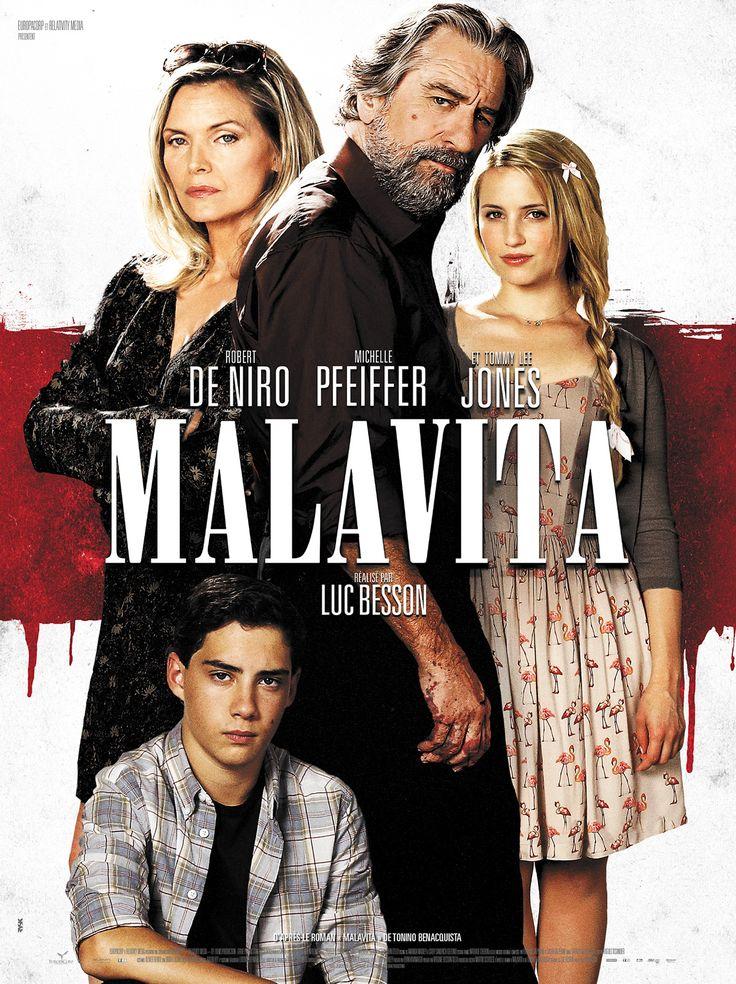 malavita, luc besson splendide film sur des mafieux reconverti. le dialogue est aussi bon que les scènes d'actions et quelques moments splendide comme sur le choix d'un toyboy ou les vertus de l'huile d'olive.