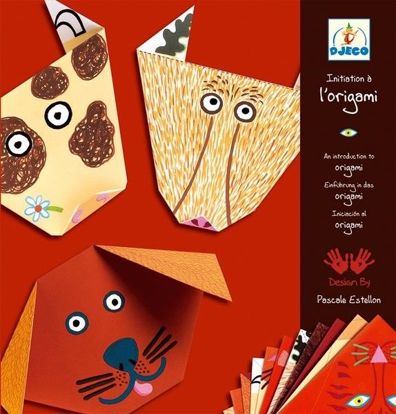 Djeco - Origami Animals Brown What a great rainy day activity! Paper crafts to keep small hands and minds busy #EntropyWishList #PinToWin