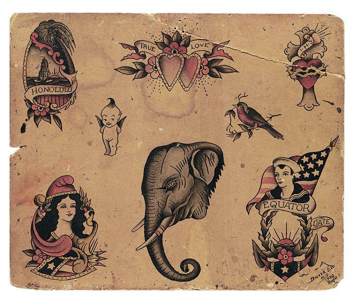 Best 25+ Vintage Tattoos Ideas On Pinterest