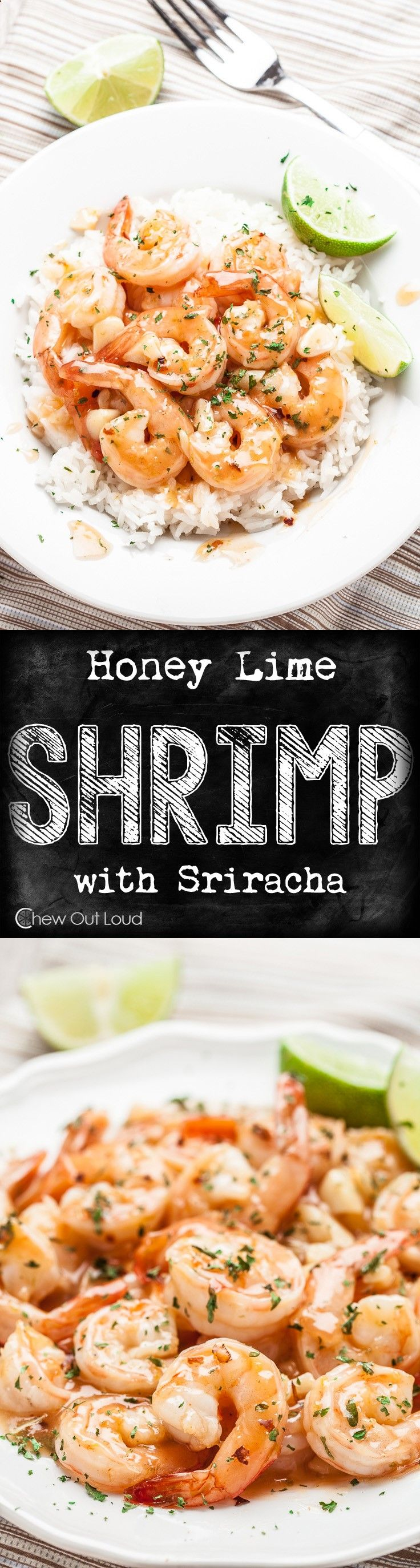 Just 15 minutes and a few simple ingredients will get this succulent shrimp dish on the table. #healthy #seafood #recipe