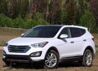 2013 Hyundai Santa Fe Sport. Do you like this, Kelli? Maybe in grey or white? for me!!!!!  Dad will kill me for even thinking.