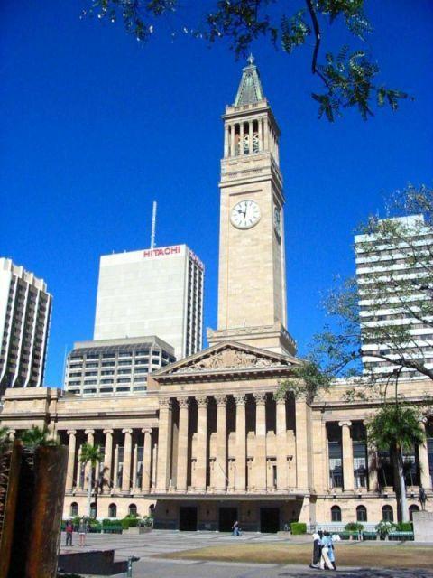 シティーホールはシドニーのオペラハウスができるまで、一番高い費用の建物だった。ブリスベンの歴史博物館、美術館、タワーを開放しているそうな。ブリスベン 旅行・観光のおすすめスポット!