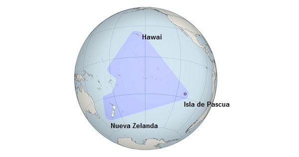 Isla de Pascua es uno de los más no poblado lugares en el mundo. Fue formado de un volcán. -D.L