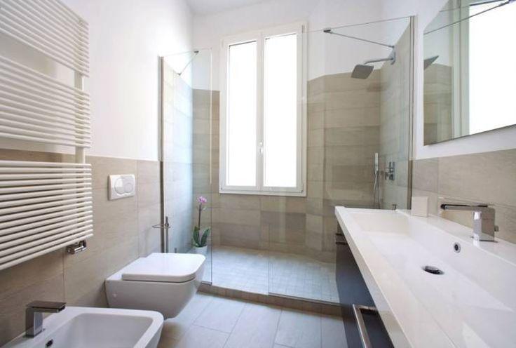 Casa L: Bagno in stile in stile Moderno di MIROarchitetti