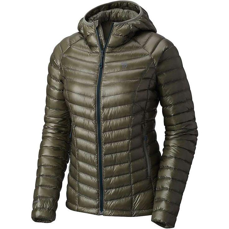 Mountain Hardwear Women's Ghost Whisperer Hooded Down Jacket #downjacket