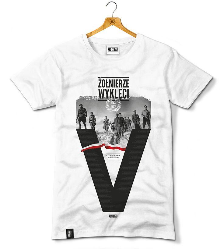 Koszulka ku czci pamięci żołnierzy polskiego podziemia antykomunistycznego, którzy zbrojnie przeciwstawiali się zbrodniczemu systemowi komunistycznemu siłą wprowadzonemu w Polsce. Motyw przewodni to duży nadruk z literą V (Victoria), na której znajdują się stopnie oraz imiona i nazwiska niektórych dowódców i żołnierzy z poszczególnych oddziałów.