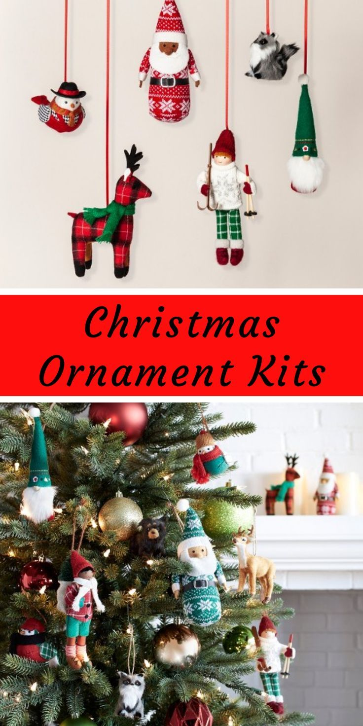 Diy Your Christmas Tree The Easy Way With Christmas Tree Ornament Kits Ins Christmas Tree Ornament Kits Christmas Art Projects Christmas Decorations To Make