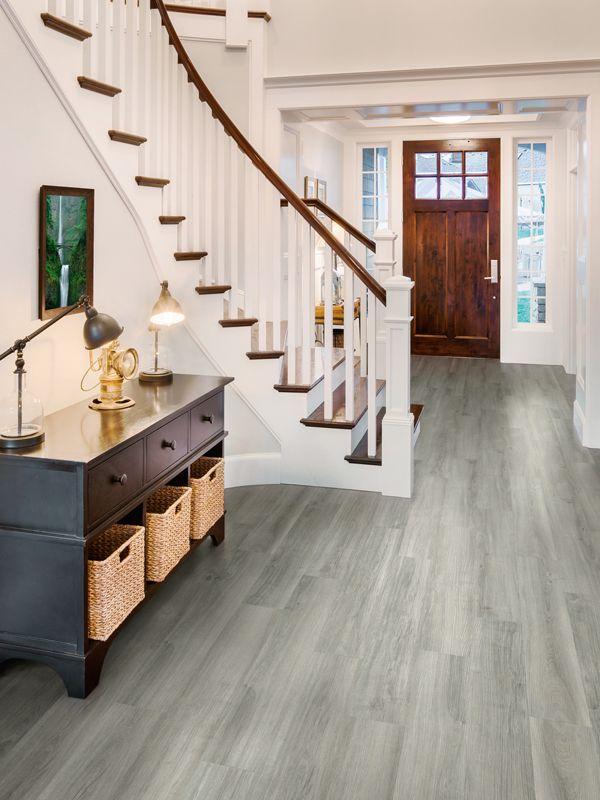 What A Gorgeous Hallway Design Luxury Vinyl Flooring Luxury Vinyl Tile Luxury Vinyl Plank