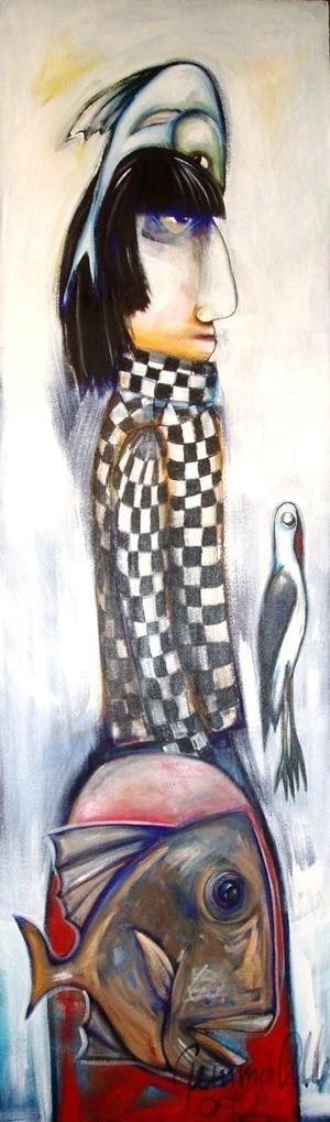 Quirky and gorgeous - art by Geraldton artist Gemma Allen
