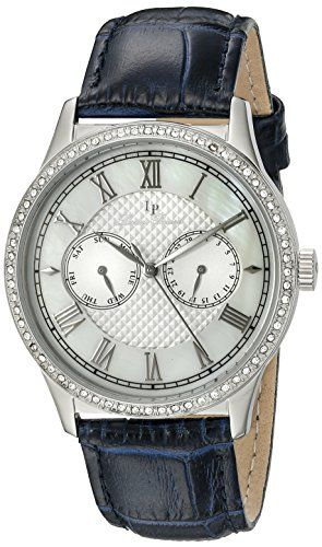 Lucien Piccard Womens LP1033402BL Brela Stainless Steel Watch ** To view further for this item, visit the image link.