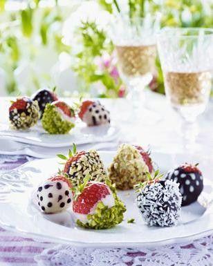 Erdbeeren   Schoko   Nuss   Topping