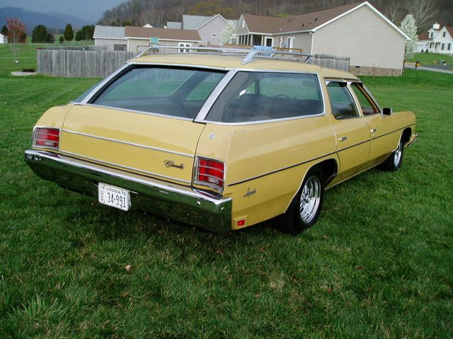 1973 Impala station wagon. Just like the one my parents owned