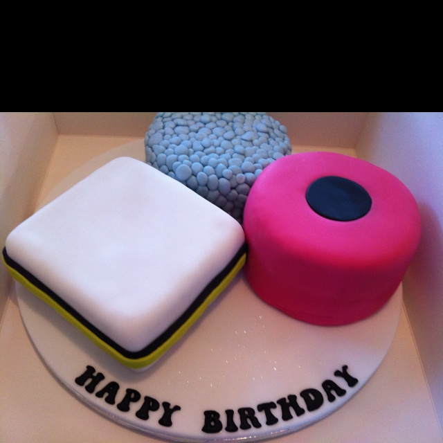 Liquorice Allsort Decorated Cake