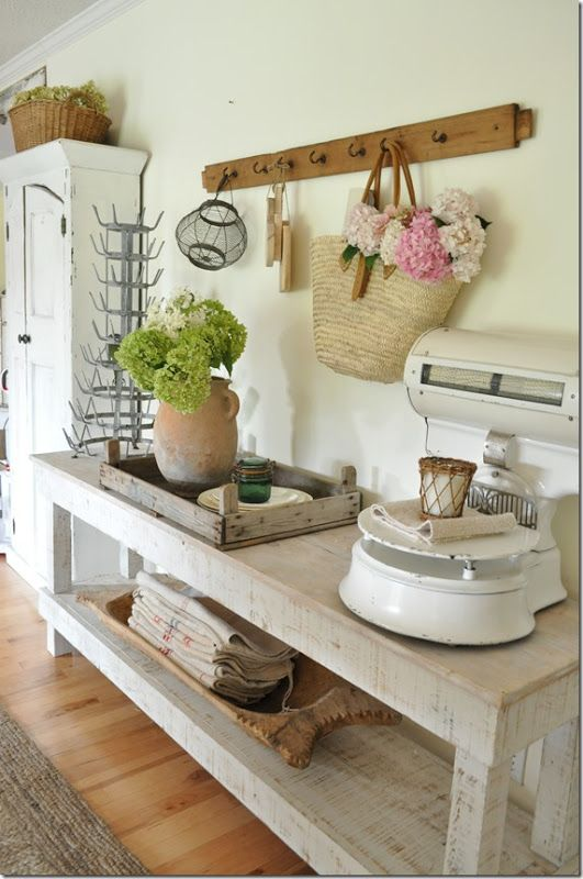 farmhouse style dining room buffet table becky cunningham home french farmhouse