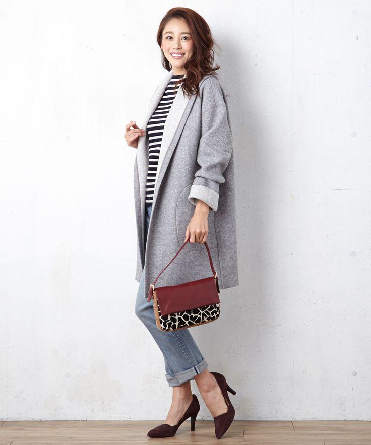 商品画像 - ワイドリブダブルフェイス コーディガン / 23区(ニジュウサンク)|オンワードグループ公式ファッション通販サイト|ONWARD