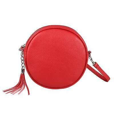 Photo of ITAL LADIES LEATHER BAG Crossbody Round Shoulder Bag Evening Bag Shoulder Bag …