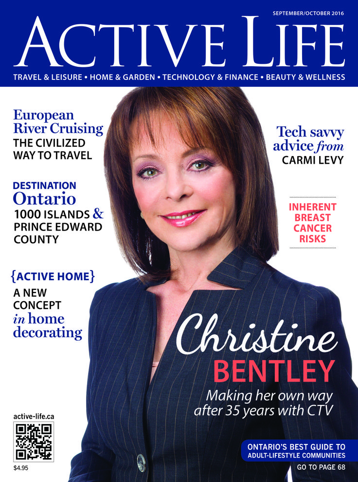 Christine Bentley featured in cover story! Read the latest issue of active-life.ca/ACTIVE LIFE online FREE at this link...  http://digital.active-life.ca/2016/September_October/?1