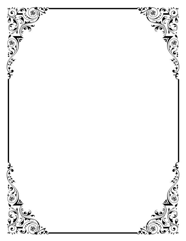 35 Great Image Of Free Wedding Invitation Templates For Word Regiosfera Com Clip Art Vintage Free Clip Art Vintage Borders