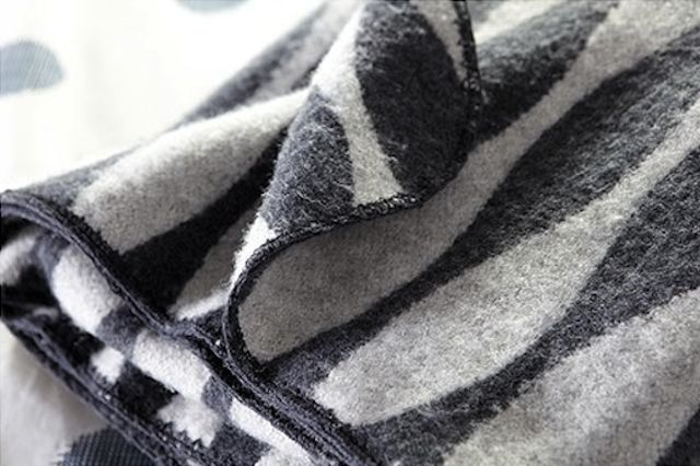 Same as on Houzz? $139 - Twist a Twill Blanket: Remodelista