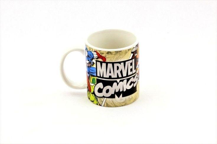 AVENGERS Marvel Superheroes Ceramic Mug Comic Strip Collectors cup hero's new