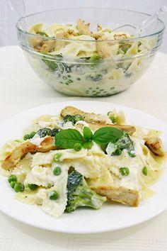 Paste cu broccoli si piept de pui | gabriela cuisine - recipes