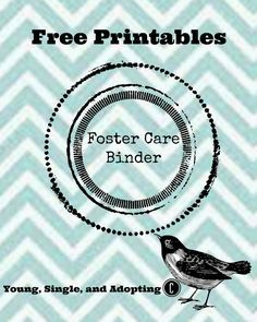 Free Printable to Keep Your Foster Car Paperwork in Order
