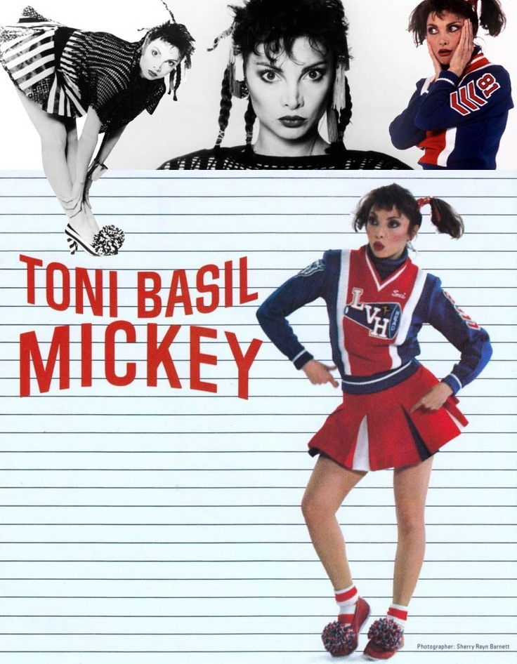 """Tony Basil """"Mickey"""" (1982) My 45 of this had a skip in it and we would laugh and keep dancing"""