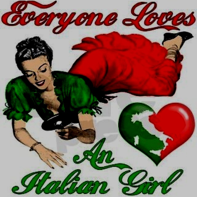 Proud to be Italian and raised right!
