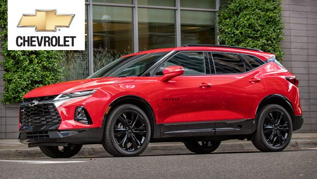 2019 Chevrolet Blazer Midsize Luxury Suv With A Powerful V6