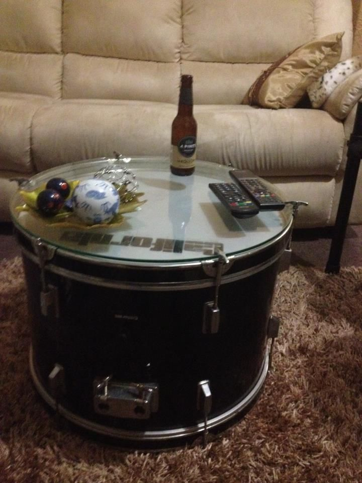 Drum Coffee Table Drum Home Projects Pinterest We The O 39 Jays And Furniture