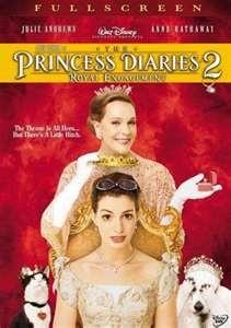The Princess Diaries 1 & 2, perfect chick flicks!