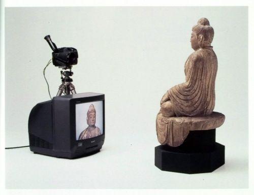 Nam June Paik, TV Buddha, 1972