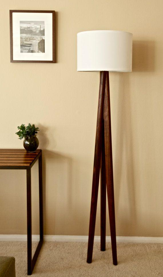 Tripod Floor Lamp Living Room