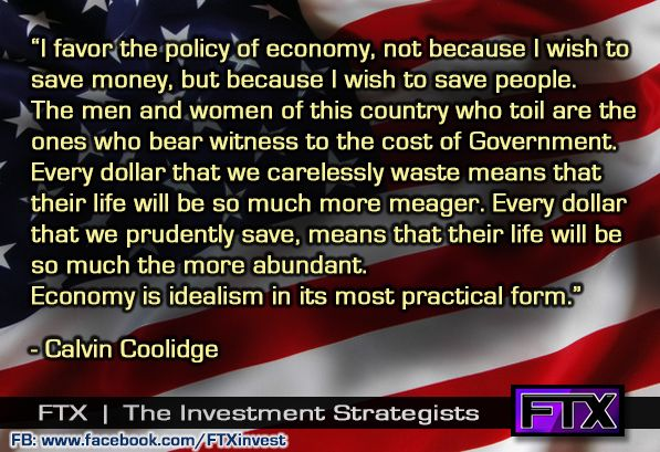 Economy is idealism in its most practical form.