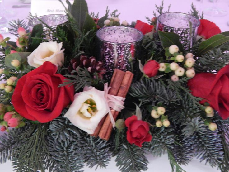 Detail of the top table arrangement