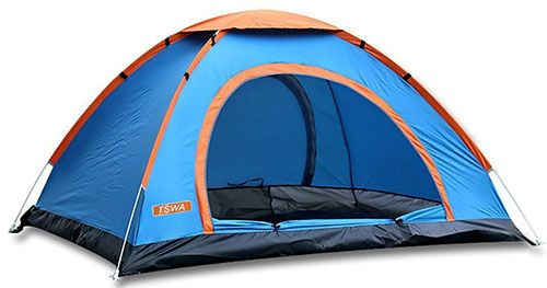 6. Pop Up Camping Tent by TSWA