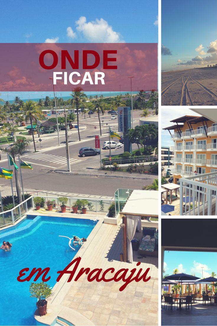 Dica de hotel onde ficar em Aracaju, Nordeste do Brasil.